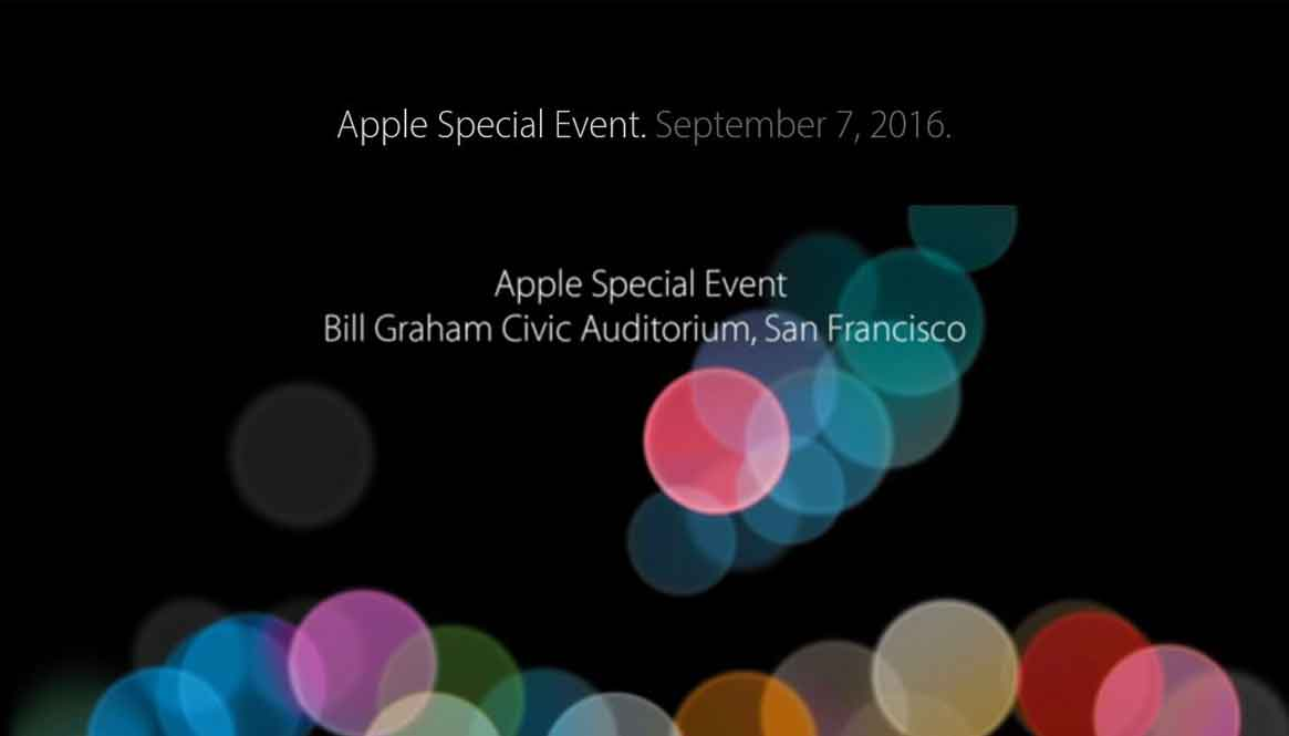Ankündigung Apple Special Event