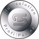 Logo blue:solution Profi-Partner