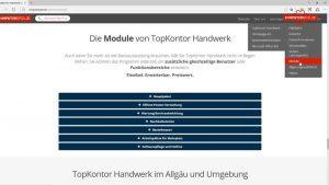 TopKontor Handwerk 6 | Überblick | Module