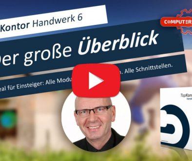 TopKontor Handwerk 6 Einsteiger-Video: Überblick