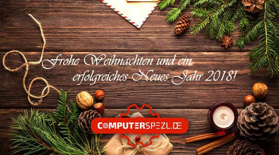 Wir wünschen Ihnen Frohe Weihnachten und ein erfolgreiches Neues Jahr 2018!
